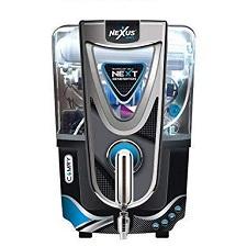 Aquafresh Nexus Camry RO+UV+UF+TDS+Alkaline RO Water Purifier (Black)