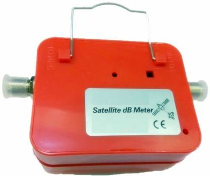 SOLID Analogue SF-45 Satellite DB Meter Back