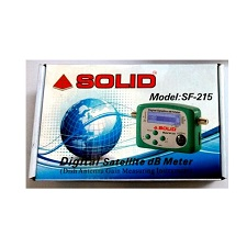 Solid SF-215 Digital Satellite DB Meter