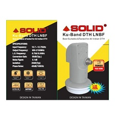 Solid FS-408 BIG Universal Single Ku-Band LNB For Satellite Dishes