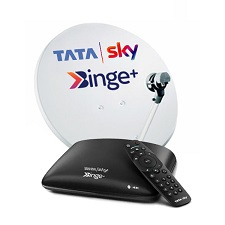 Tata Sky Binge Android Box with 1 month Hindi Lite HD Pack