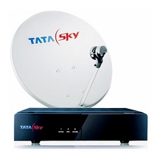 Tata Sky SD Set Top Box with Free 1 Month Hindi Lite Pack