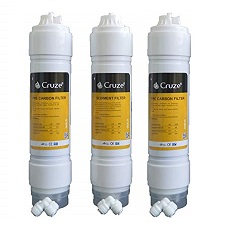 Cruze Gold RO Filter Cartridge Set