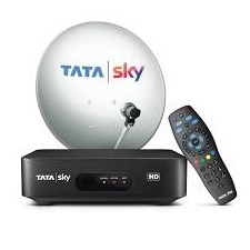 Tata Sky HD Set Top Box with Free 1 Month Hindi Lite HD Pack