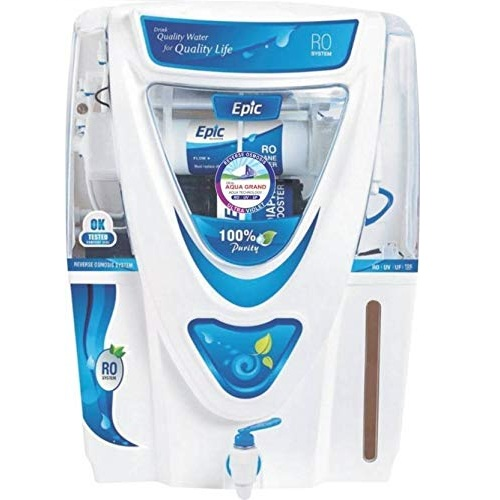 Aqua Grand Plus Epic 17 L RO + UV + UF + TDS Water Purifier (White)